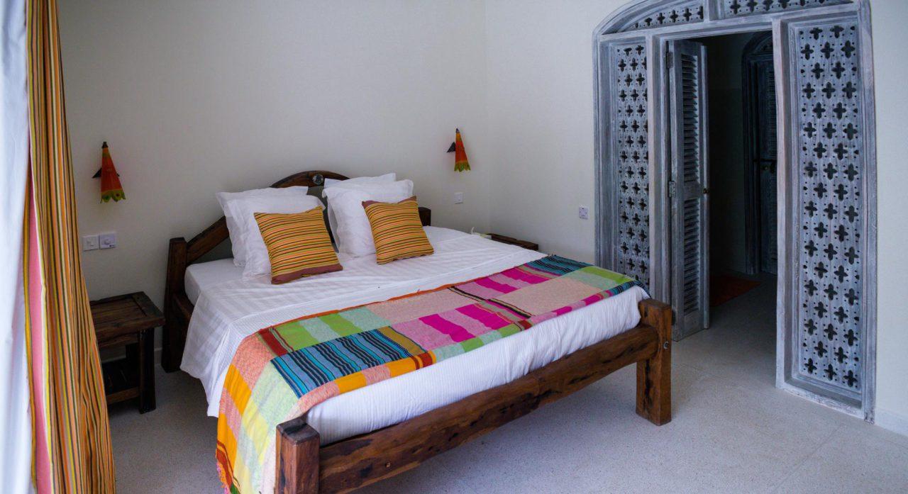 Foto van het bed